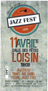 Flyer SOiree Jazz 11.04.2015